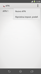 Sony Xperia Z1 - MMS - Configurazione manuale - Fase 8
