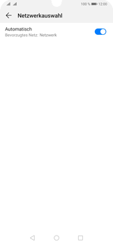 Huawei P30 Pro - Netzwerk - Manuelle Netzwerkwahl - Schritt 6