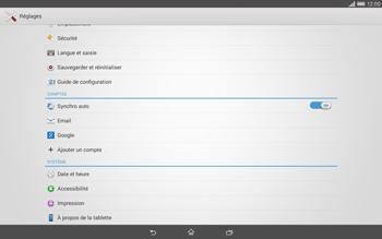 Sony Xperia Tablet Z2 LTE - Logiciels - Installation de mises à jour - Étape 5