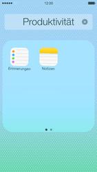 Apple iPhone 5c - Startanleitung - Personalisieren der Startseite - Schritt 5