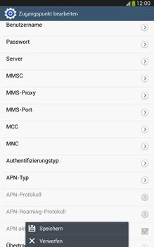 Samsung Galaxy Tab 3 8-0 LTE - MMS - Manuelle Konfiguration - Schritt 16