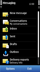 Nokia N8-00 - SMS - Manual configuration - Step 4