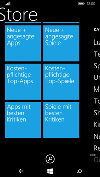 Microsoft Lumia 640 XL - Apps - Herunterladen - 8 / 17