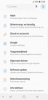 Samsung Galaxy S8 - Oreo - software - update installeren zonder pc - stap 4