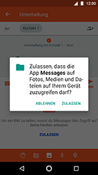Motorola Moto G5s - MMS - Erstellen und senden - 15 / 23