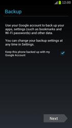 Samsung I9300 Galaxy S III - Applications - Create an account - Step 13