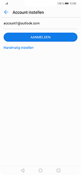 Huawei P Smart Plus - e-mail - handmatig instellen - stap 6