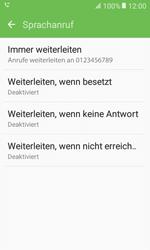 Samsung Galaxy Xcover 3 VE - Anrufe - Rufumleitungen setzen und löschen - 2 / 2
