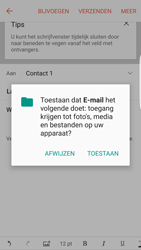 Samsung Galaxy S6 - Android M - E-mail - Hoe te versturen - Stap 11
