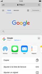 Apple iPhone 6s - iOS 14 - Internet et roaming de données - Navigation sur Internet - Étape 17