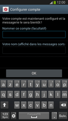 Samsung I9300 Galaxy S III - E-mail - Configuration manuelle (outlook) - Étape 9