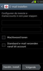 Samsung I8190 Galaxy S III Mini - E-mail - Account instellen (IMAP zonder SMTP-verificatie) - Stap 6