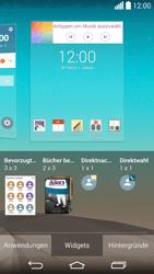 LG G3 - Startanleitung - Installieren von Widgets und Apps auf der Startseite - Schritt 7