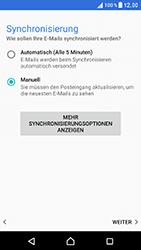 Sony Xperia XZ - E-Mail - Konto einrichten - Schritt 19