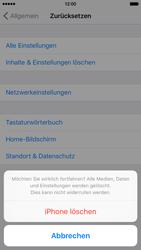 Apple iPhone 6s - Fehlerbehebung - Handy zurücksetzen - Schritt 9