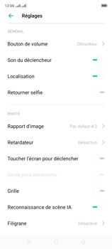Oppo A9 2020 - Photos, vidéos, musique - Prendre une photo - Étape 6