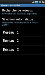 Samsung I9000 Galaxy S - Réseau - utilisation à l'étranger - Étape 11