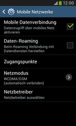 Samsung Galaxy Grand Neo - Netzwerk - Netzwerkeinstellungen ändern - 6 / 8