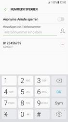Samsung Galaxy S7 - Anrufe - Anrufe blockieren - 11 / 12