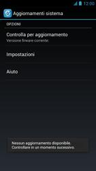 Alcatel One Touch Idol - Software - Installazione degli aggiornamenti software - Fase 7