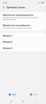 Samsung Galaxy A51 - Réseau - Sélection manuelle du réseau - Étape 10
