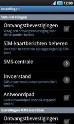 Samsung I9000 Galaxy S - SMS - Handmatig instellen - Stap 4