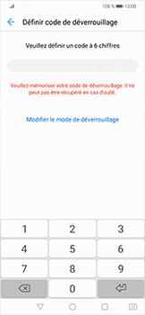 Huawei Mate 20 lite - Sécuriser votre mobile - Activer le code de verrouillage - Étape 6