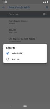 Nokia 6.2 - WiFi - Comment activer un point d'accès WiFi - Étape 10