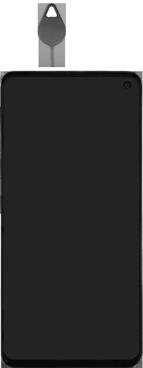 Samsung Galaxy S10e - SIM-Karte - Einlegen - Schritt 2