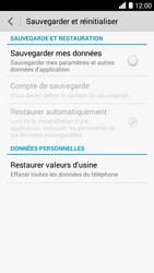 Bouygues Telecom Ultym 5 - Aller plus loin - Restaurer les paramètres d'usines - Étape 5