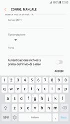 Samsung Galaxy S6 - Android Nougat - E-mail - configurazione manuale - Fase 14