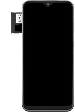 Samsung Galaxy A20e - Toestel - simkaart plaatsen - Stap 7