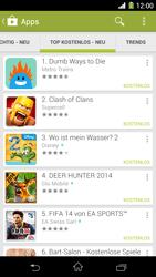 Sony Xperia Z1 - Apps - Herunterladen - 11 / 20