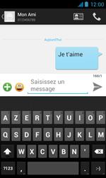 Bouygues Telecom Bs 402 - Contact, Appels, SMS/MMS - Envoyer un SMS - Étape 10