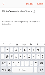 Samsung Galaxy Xcover 3 VE - E-Mail - E-Mail versenden - 10 / 20