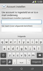 Sony D2005 Xperia E1 - E-mail - e-mail instellen: IMAP (aanbevolen) - Stap 17