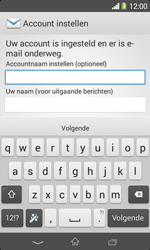 Sony D2005 Xperia E1 - E-mail - Account instellen (IMAP met SMTP-verificatie) - Stap 17