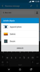 HTC One M8 - MMS - envoi d'images - Étape 14