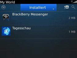 BlackBerry Bold - Apps - Herunterladen - 8 / 11