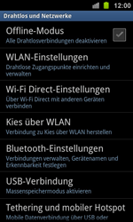 Samsung Galaxy Ace 2 - WLAN - Manuelle Konfiguration - 1 / 1
