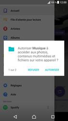 Sony Xperia X - Photos, vidéos, musique - Ecouter de la musique - Étape 4