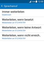 Samsung Galaxy Grand Prime - Anrufe - Rufumleitungen setzen und löschen - 8 / 11