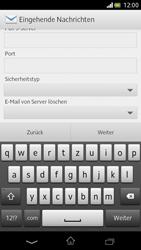 Sony Xperia V - E-Mail - Manuelle Konfiguration - Schritt 8