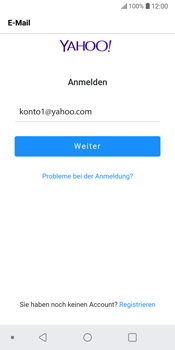 LG G6 - Android Oreo - E-Mail - Konto einrichten (yahoo) - Schritt 8