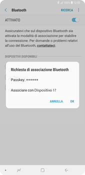 Samsung Galaxy Note9 - Bluetooth - Collegamento dei dispositivi - Fase 9