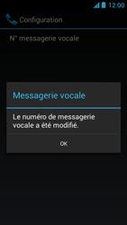 Acer Liquid Z5 - Messagerie vocale - configuration manuelle - Étape 10