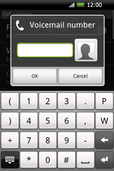 HTC A6262 Hero - Voicemail - Manual configuration - Step 6