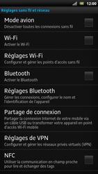 Sony LT22i Xperia P - Wifi - configuration manuelle - Étape 4