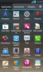 LG P700 Optimus L7 - Voicemail - handmatig instellen - Stap 4