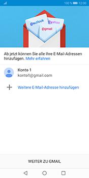 Huawei Mate 10 Pro - Android Pie - E-Mail - Konto einrichten (gmail) - Schritt 12